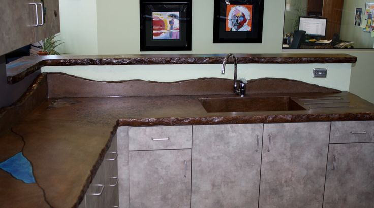 kitchen in cities countertops concrete mn polished metro premier tops twin