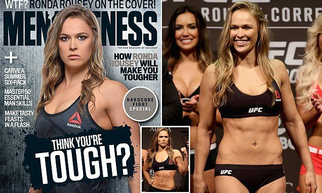 Ronda Rousey first woman to grace cover of Australian Men's Fitness