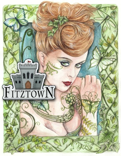 fantasy painting by morgan fitzsimons