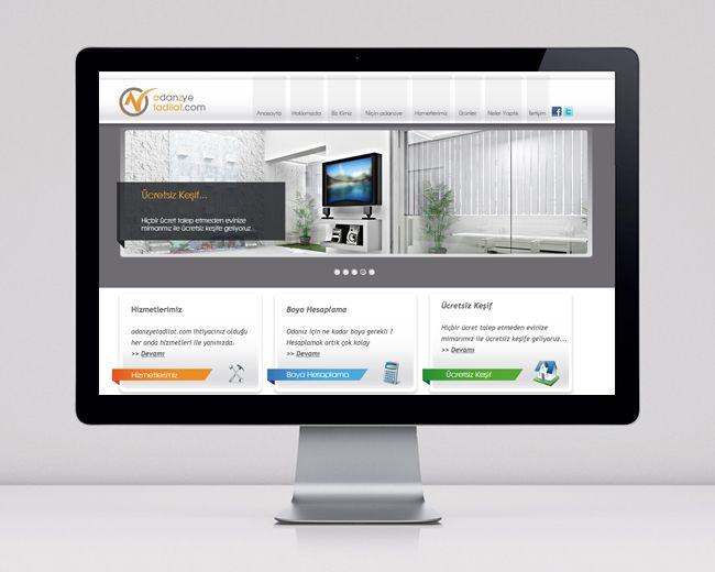 """adanzye tadilat""  Web Site Design"