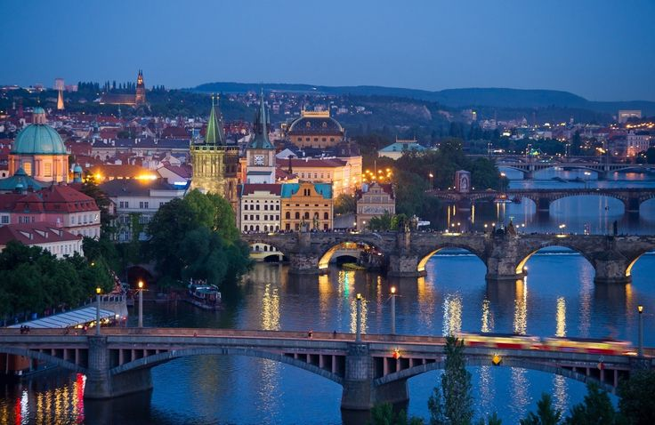 Prague- I absolutely love this city! Was there a lifetime ago...
