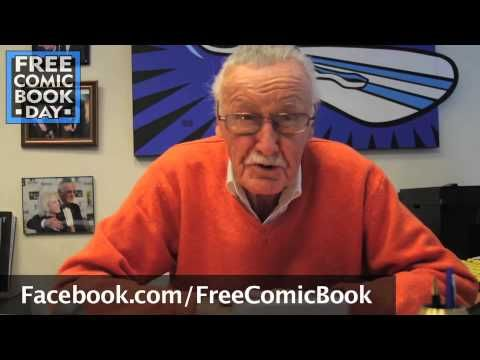 "Free Comic Book Day has put together a video of Stan Lee promoting this years upcoming Free Comic Book Day… This is the kind of thing Stan ""The Man"" can do for the industry like no other. To a lot of the he is synonymous with comic books. So I think getting the 91-year old to do it was a great idea… so was getting him to say ""The first Saturday in May"" each time instead of the specific date, meaning they can use the video again next year and the year after."