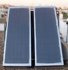Construir un calentador solar casero