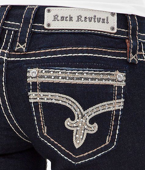 Rock Revival Sherry Boot Stretch Jean-- every girl needs at least one pair to wear with t-shirts:)