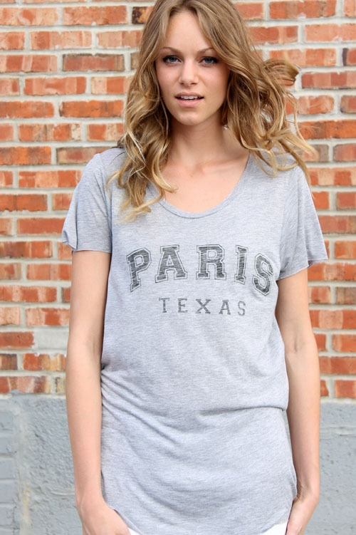 Zoe Karssen Paris Texas Tee by Swank Boutique Online