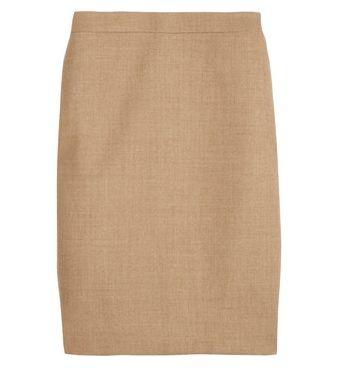 Professionelle: Wool-Twill Pencil Skirt