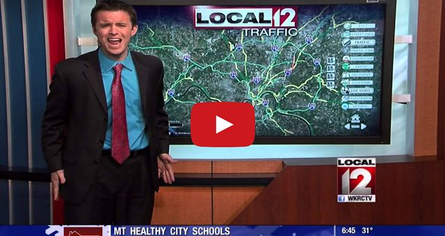 HAHAHAHAHAHAHAHA An Ohio weatherman makes up a parody to 'Let It Go' to describe the weather conditions.