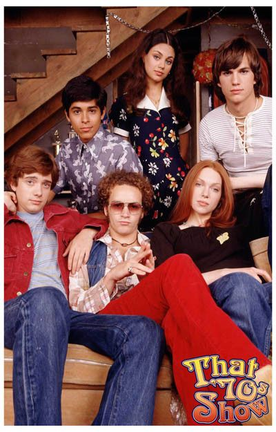 That 70's Show Cast on Couch TV Show Poster 11x17