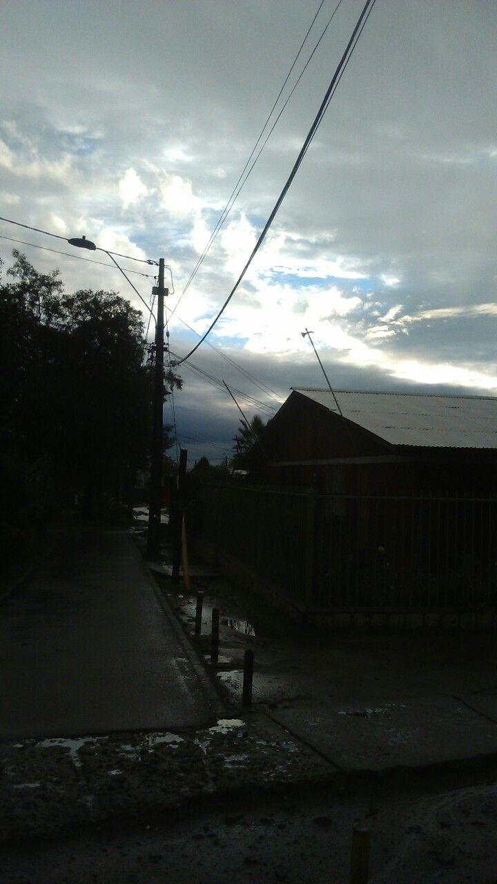 Cielo despejado de lluvia