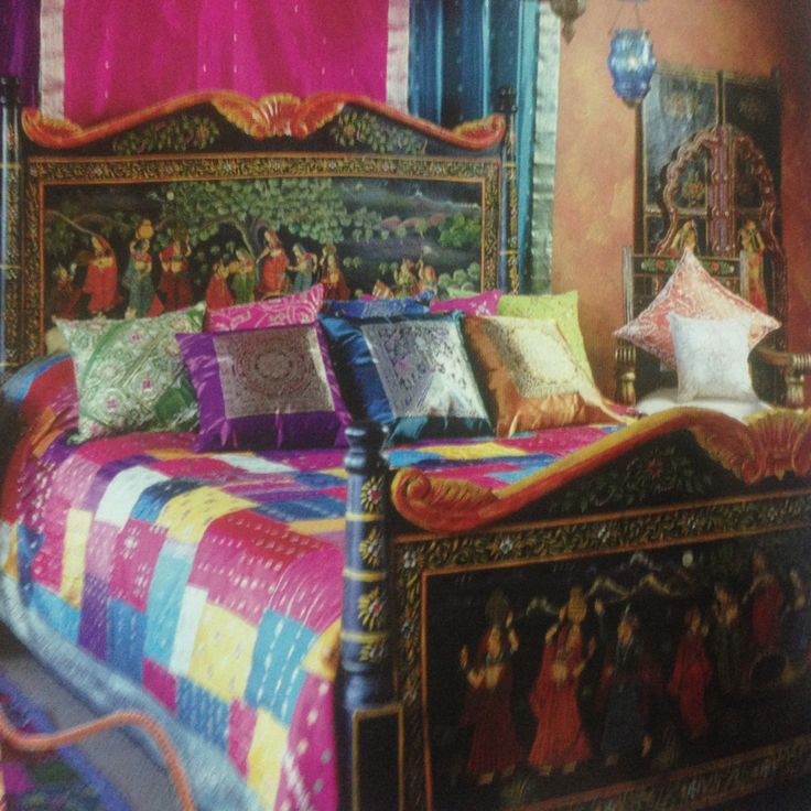 Wallpaper Designs For Bedroom Indian: 17 Best Ideas About Indian Themed Bedrooms On Pinterest