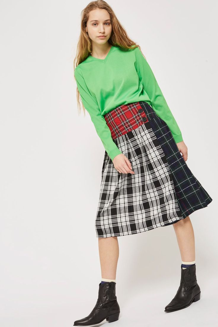 Pin by Grace Han on fashion inspiration   Kilt skirt ...
