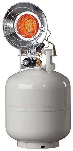Enerco - Mr Heater 8-14K BTU Single Tank Top Propane Patio Heater F242100