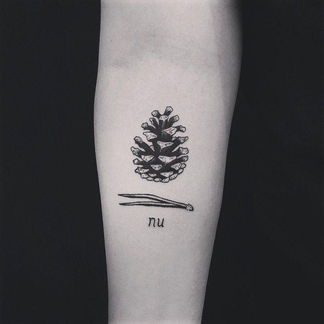 Cone tattoo