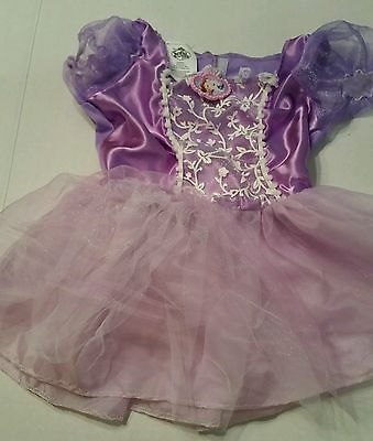 2 Disney Store Costumes SOFIA the FIRST Dress Princess and SNOW WHITE Size 4-6X