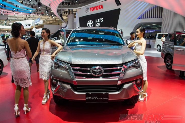 Toyota Has Displayed Its Latest Generation Fortuner At The