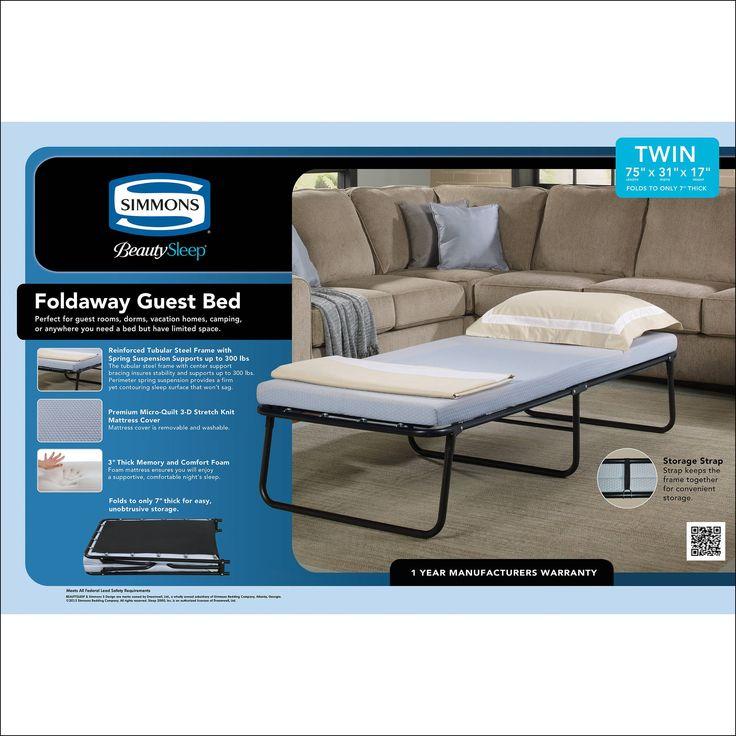 Folding Guest Bed Mattress Only