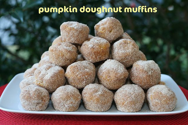 Pumpkin Doughnut Muffins - Everyday Food by Food Librarian, via Flickr