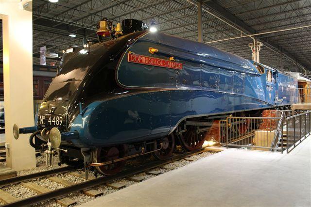Locomotive à vapeur, Dominion of Canada / Steam locomotive, Dominion of Canada #exporail #trains #musée #museum