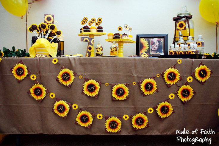 SUNFLOWER Bridal or Baby Shower or Birthday INVITATION -Printable Invite - Customizable. $10.00, via Etsy.