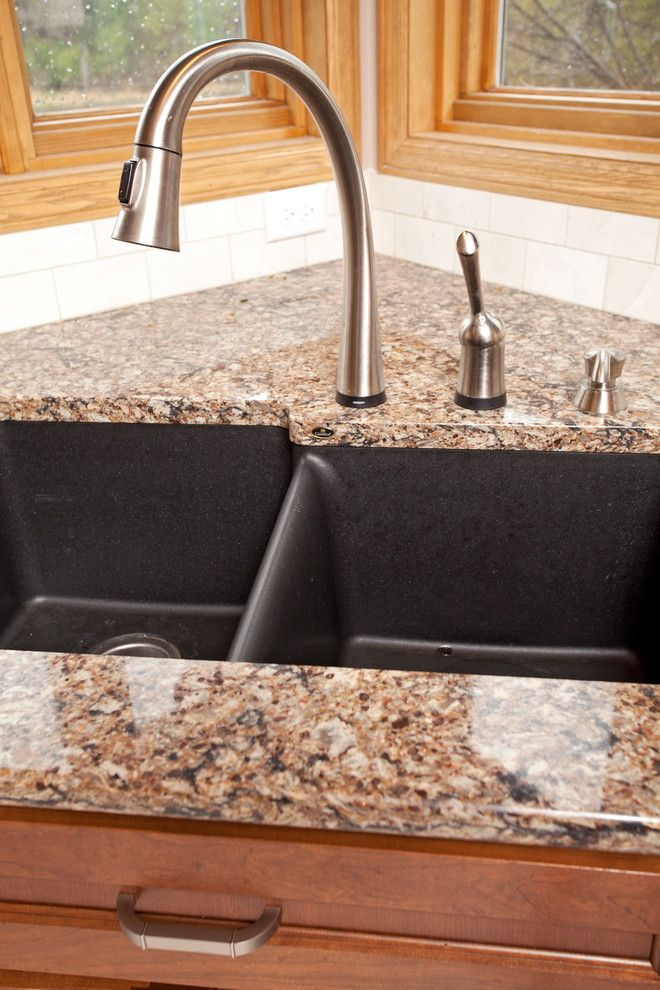Chic Elkay Sinks Trend Minneapolis Traditional Kitchen