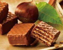 これはおいしそう  ロイズチョコレートウエハース(モンブランクリーム1) くわしはくこちらhttp://ift.tt/2cuD7Ah