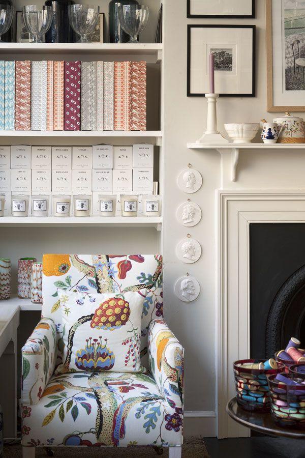 Lovely English style room Pentreath & Hall - The Trav Chair http://www.elizabethmachinpr.com/pentreath--hall.html