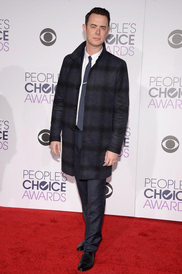 Pin for Later: Les Hommes les Plus Sexy d'Hollywood Se Sont Tous Rendu aux People's Choice Awards 2016 Colin Hanks
