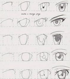 Anime Eyes Tutorial! How to draw anime eyes! I hope this helps someone out there!   this is sooooooo helpful