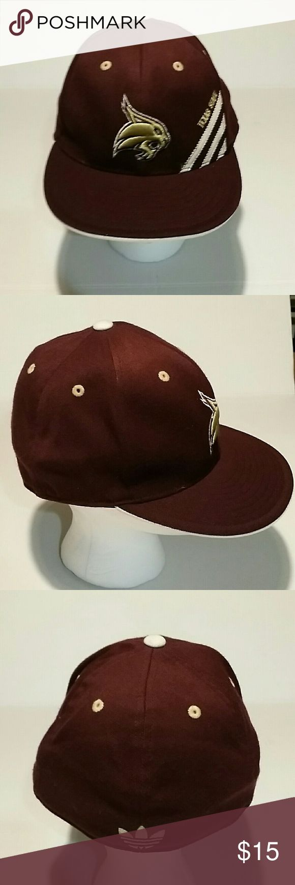 Texas State bobcats hat 210 Fitted Size: 6 7/8- 7 1/4 Accessories Hats
