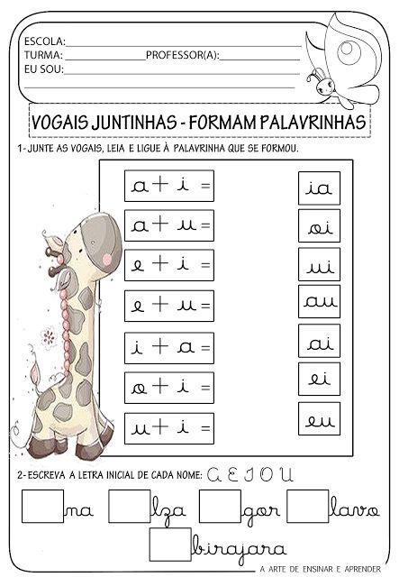 Atividade pronta - Encontros vocálicos