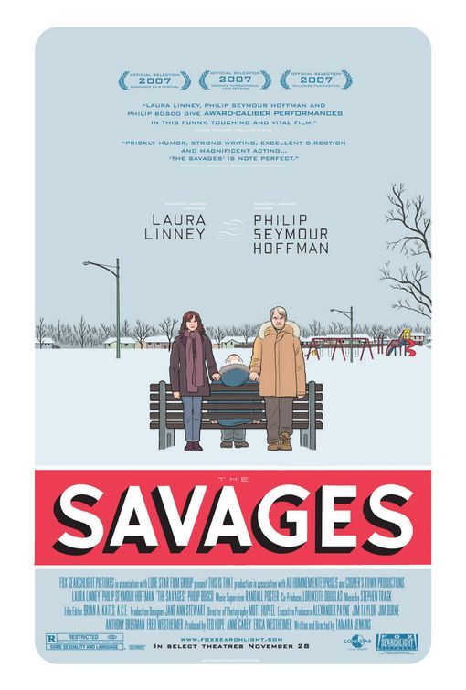 """""""The Savages."""" Felt like it was trying too hard to be depressed and indie. Did not really enjoy this."""