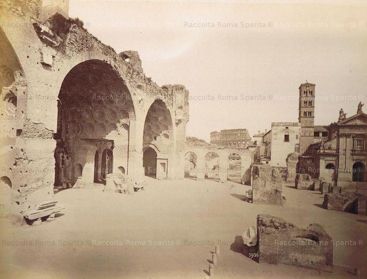 Basilica di Massenzio Anno: 1878