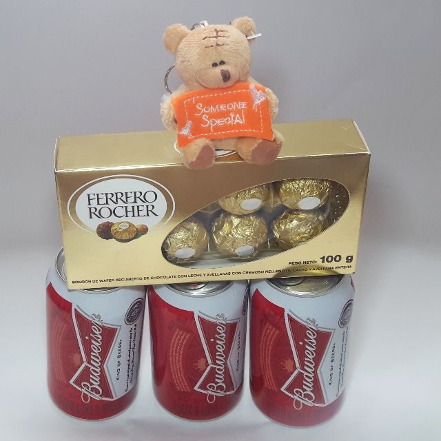 Chocolates y cerveza en Detallitos.co, detalles y regalos a domicilio en Villavicencio
