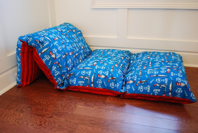 Dr Seuss pillow beds  Things I have made  Diy bed