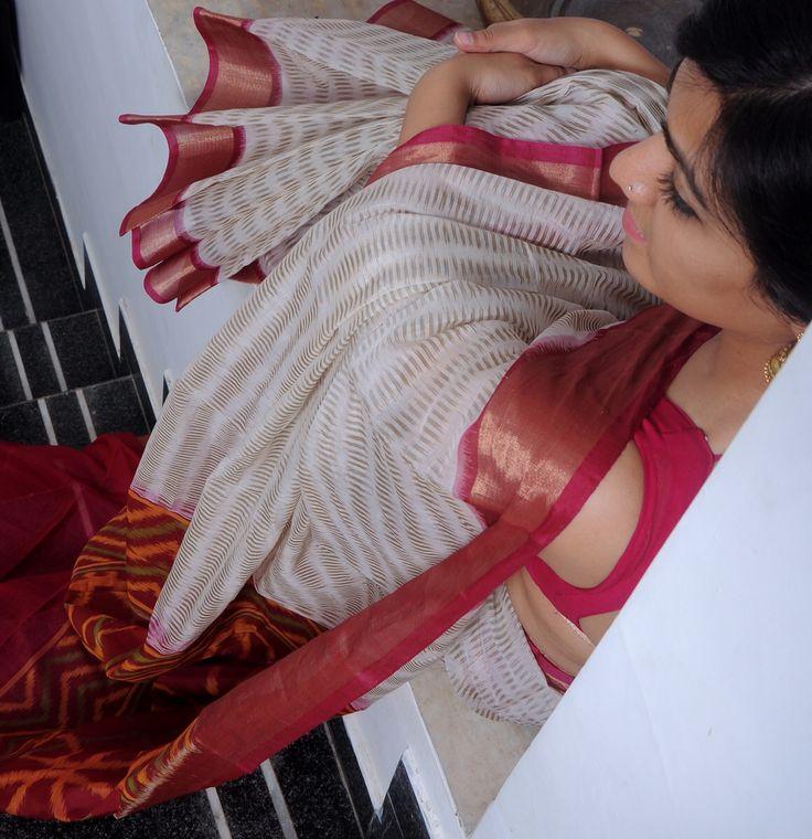 Chanderi ikkat patola sari