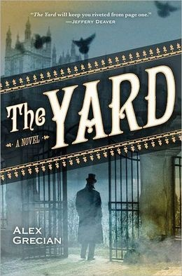 """The Yard by Alex Grecian. Book 1. Victorian London is a cesspool of crime, and Scotland Yard has only twelve detectives—known as """"The Murder Squad""""—to investigate countless murders every month. The Murder Squad suffers rampant public contempt after failing to catch Jack the Ripper. But no one can anticipate the brutal murder of one of their own . . . one of the twelve ."""
