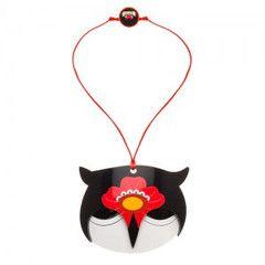 Oksana Owl - resin Erstwilder owl necklace