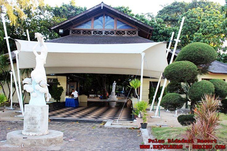 Pulau Bidadari Wisata Bersejarah