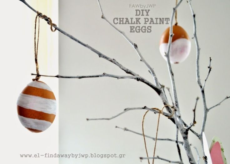 find a way by jwp: DIY CRAFTS • Easter Chalk Paint Eggs