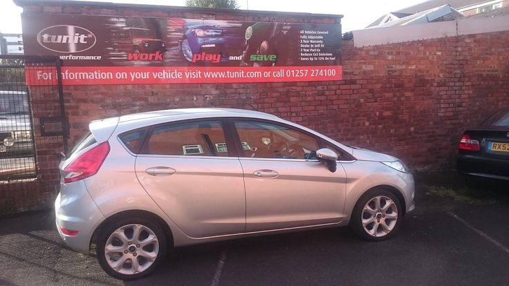 Ford Fiesta fitted with a new Tunit Optimum: • 82 BHP to 92 BHP • 114 lbs/ft of Torque to 128 lbs/ft • Fuel Savings • Self or Dealer Fit  01257 274100 info@tunit.com www.tunit.com for more details