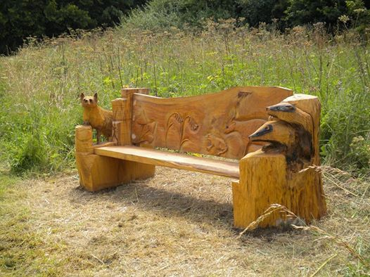 Swell Cheap Garden Supplies Carved Wood Outdoor Furniture Creativecarmelina Interior Chair Design Creativecarmelinacom