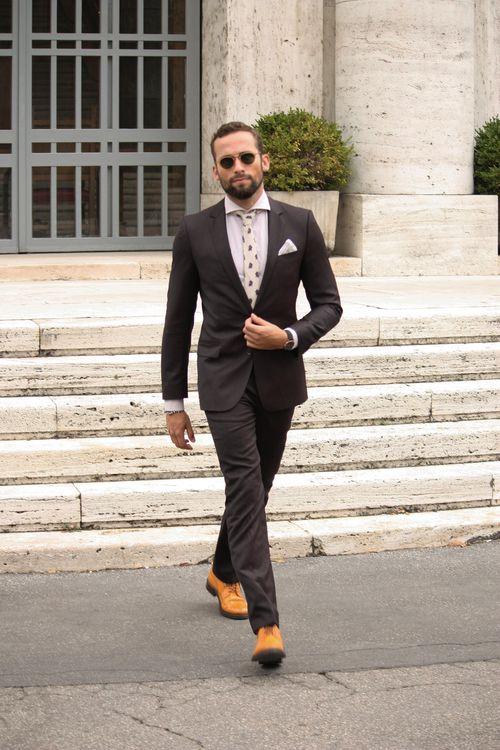 Tan Brogues Style Fashion