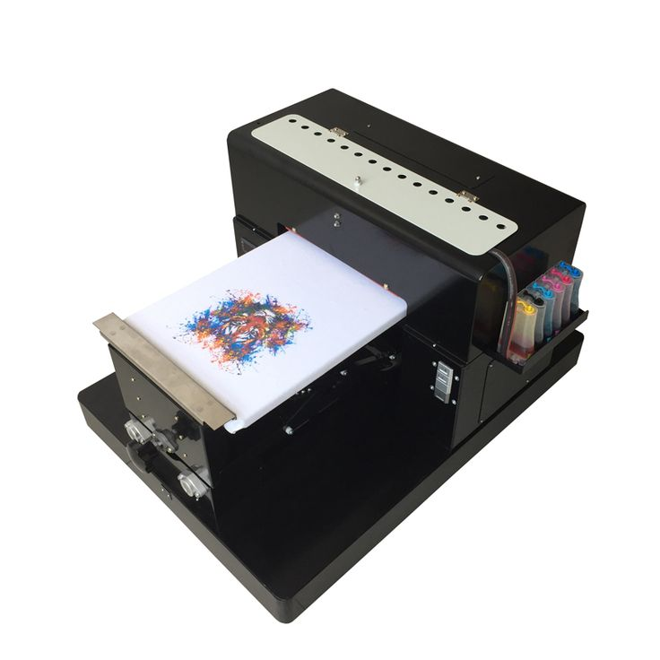 Digital printer directly to print dark light color for T shirt clothes garment ( cotton ) phone case Flatbed Printer A3 size //Price: $2067.93//     #Gadget