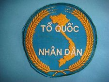 "VIETNAM WAR PATCH, ARVN ""TO QUOC NHAN DAN"" FATHER LAND & PEOPLE"