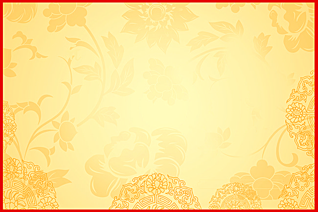 Photo Pattern Floral Frame Yellow Background in 2020 ...