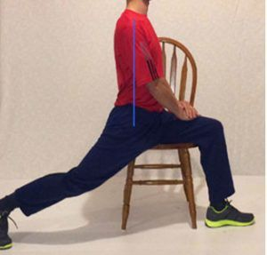 The Seated Lunge is one of the best ways to easily release your tight hip flexors.