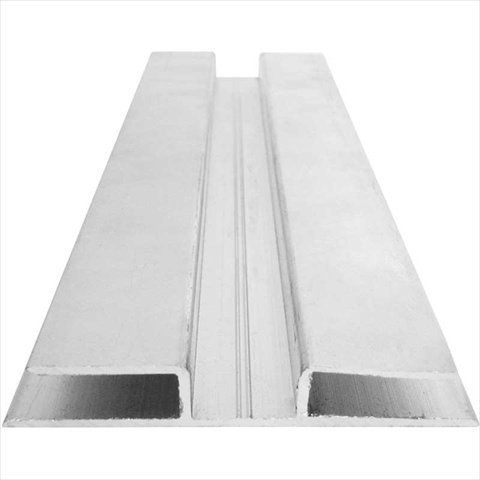 TekSupply 104212 Aluminum H-Channel 8 ft L Designed for use with 8mm twin-wall polycarbonate.. Helps keep out dirt, insects and moisture.. Allows for a finished, professional look.. H-Channel - Use to join two polycarbonate sheets together.. Measures 2-7/8 in wide by 8 ft 1/16 in long and the center space is 11/16 in, 3/8 in deep.. #TekSupply #Home
