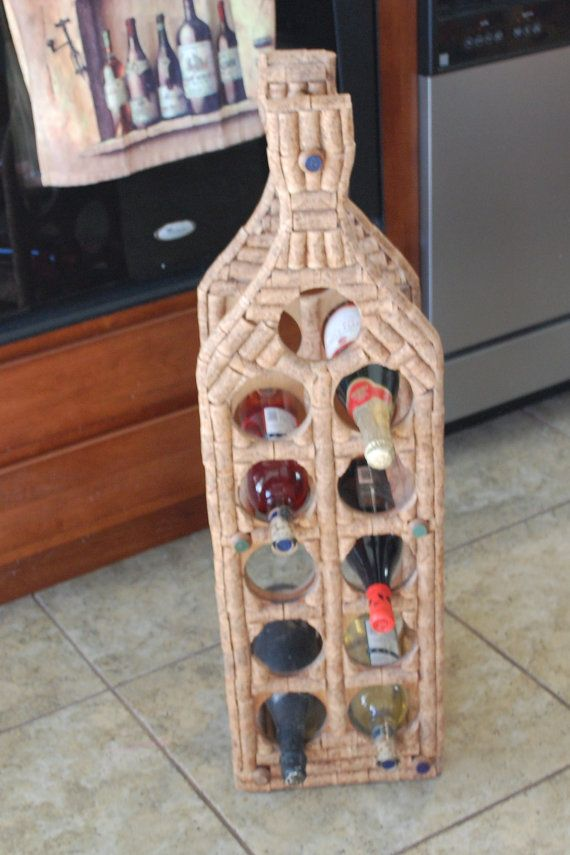 1000 images about wine cork crafts on pinterest for Arts and crafts wine rack