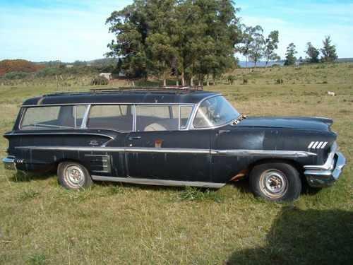 1958 Chevrolet Impala 2-door Hearse   Impala...my favorite ...
