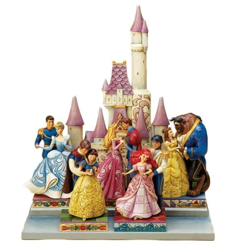 I want all of these Jim Shore Disney Princesses and their Princes! Love!!